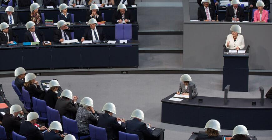 Bundestagsabordnung für Syrieneinsatz