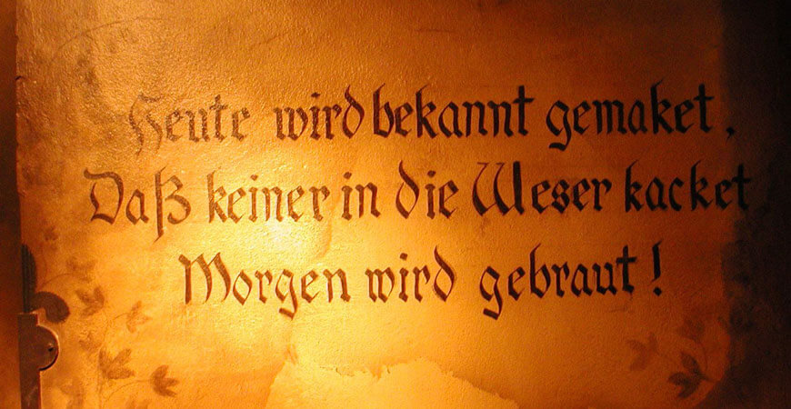 Geht's um's Bier, versteht der Deutsche wahrlich keinen Spaß. Vollkommen spaßbefreit ist aber auch sein, alles andere als freimütiger, Umgang mit dem Gerstensaft.